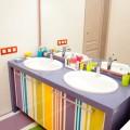 Тумба под раковину в детской ванной комнате (2)